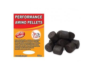 Pelete Performance Amino Black Halibut 500g 28-30mm