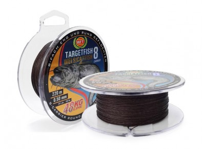 Fir WFT Targetfish8 Catfish brown 0.50mm 220m