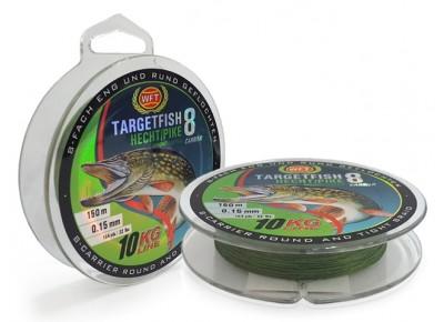 Fir Textil WFT Targetfish Hecht/Pike 0.13mm 150m